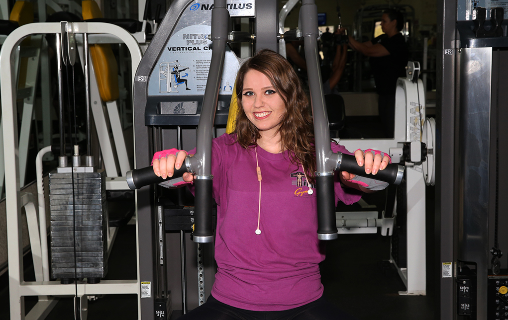 This Girl Is Making Muscles, Not Excuses