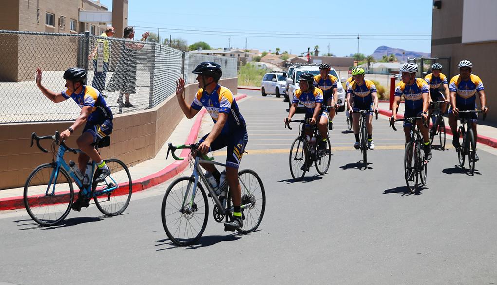 Journey Of Hope Riders Arrive In Lake Havasu