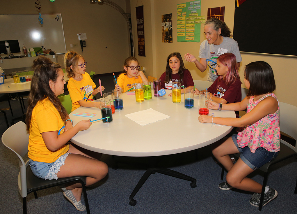 ASU Summer Camps Stimulate Fun And Learning