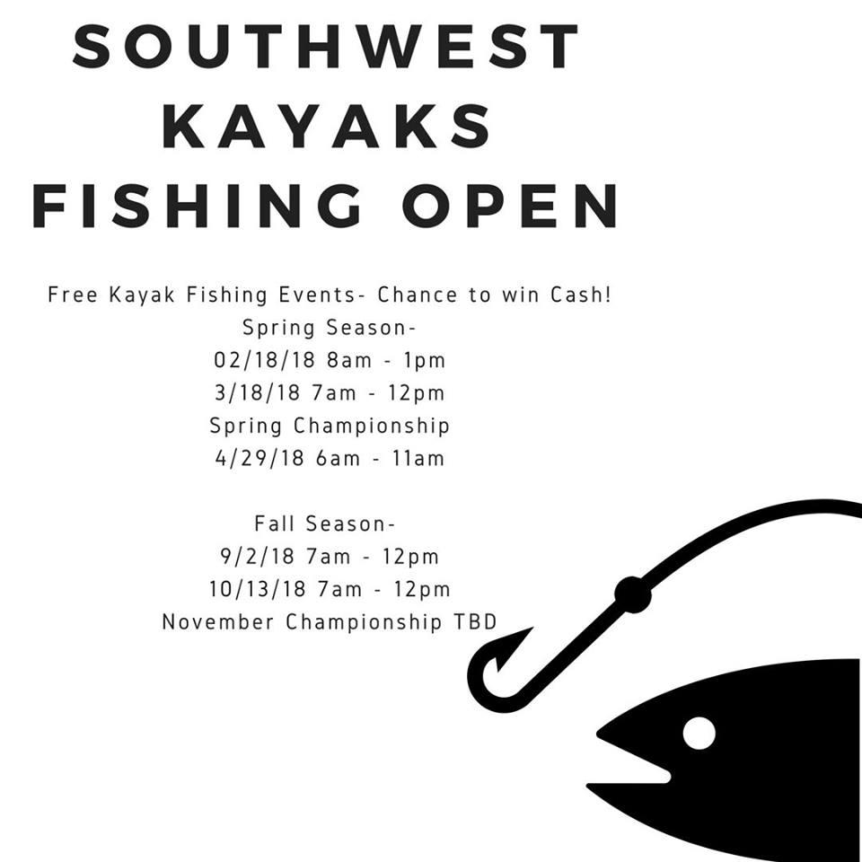Southwest Kayaks Fishing Open