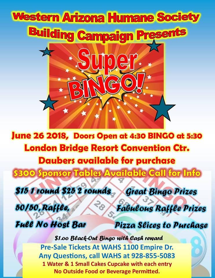 WAHS Presents Super Bingo