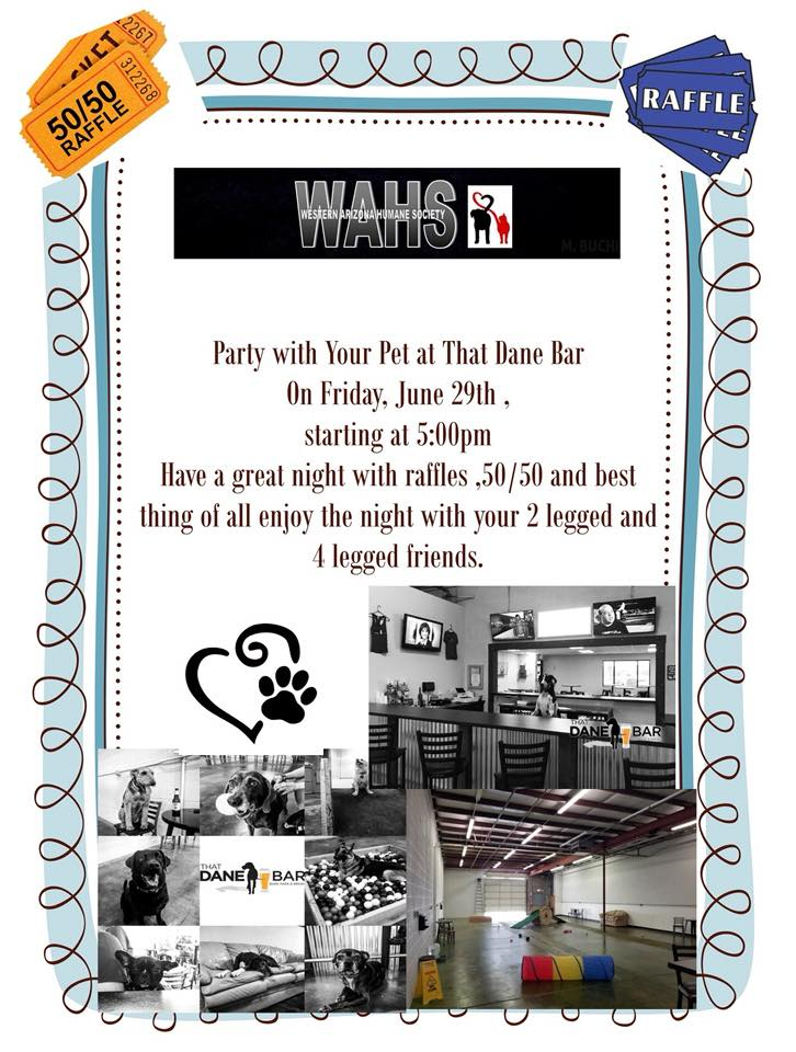 WAHS Party With Your Pet