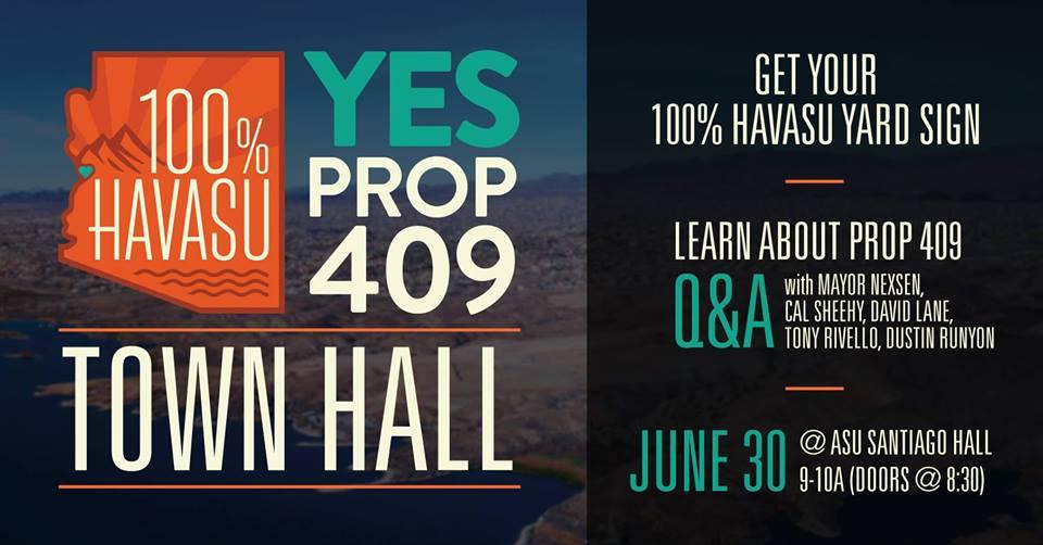 Prop 409 Town Hall Meeting