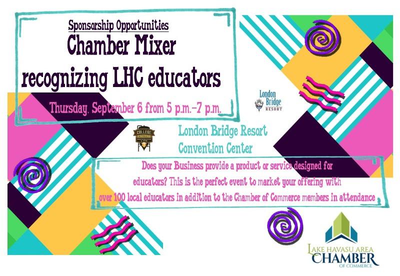 Chamber Mixer Recognizing LHC Educators
