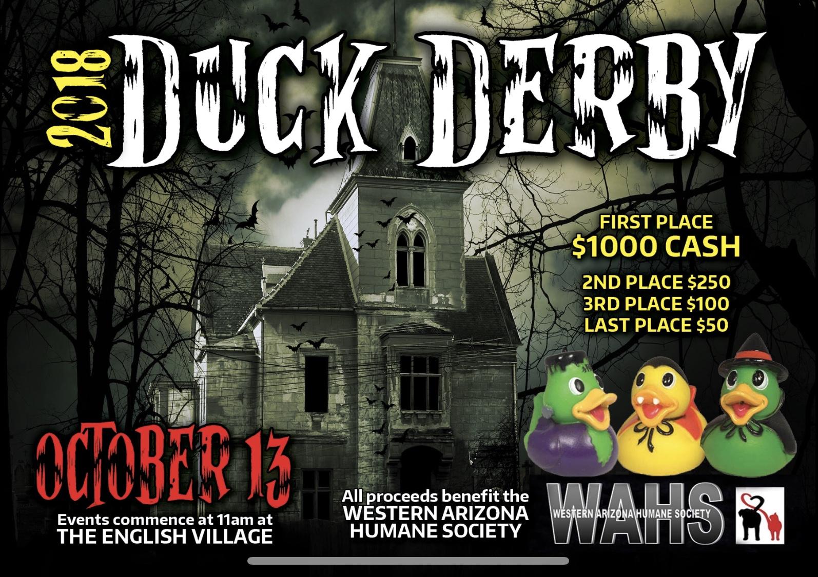 WAHS 2018 Duck Derby Races
