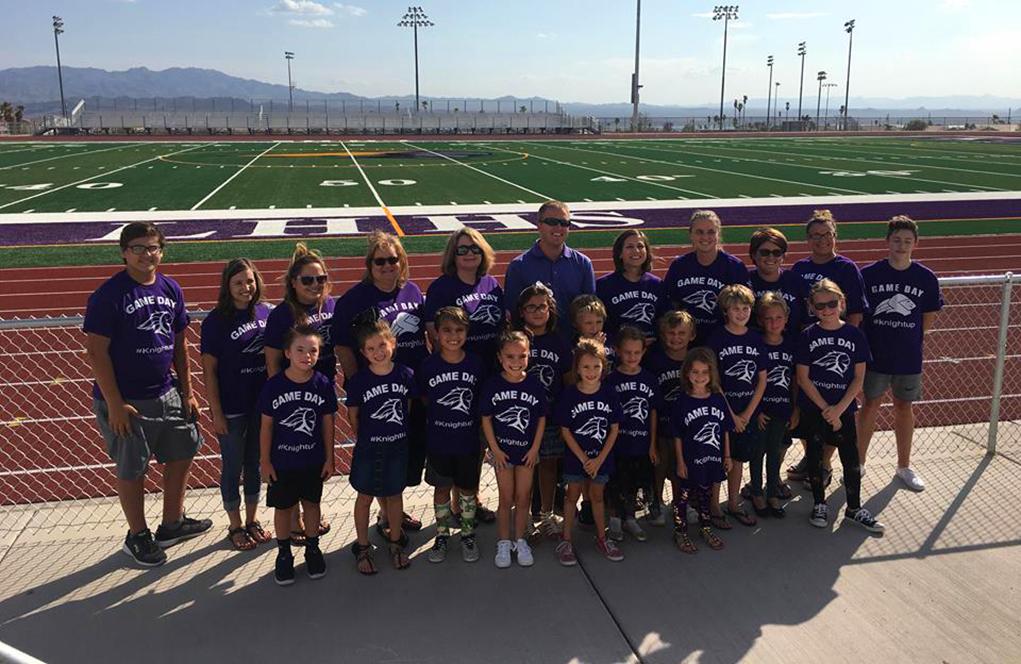 Teacher Spotlight: Brady Krueger's Famous 'Purple Shirt Friday'