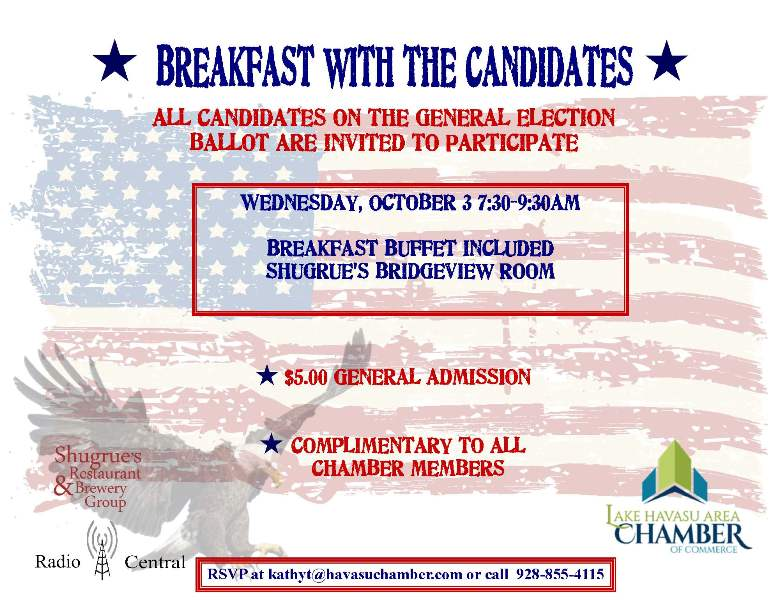 Breakfast with the Candidates