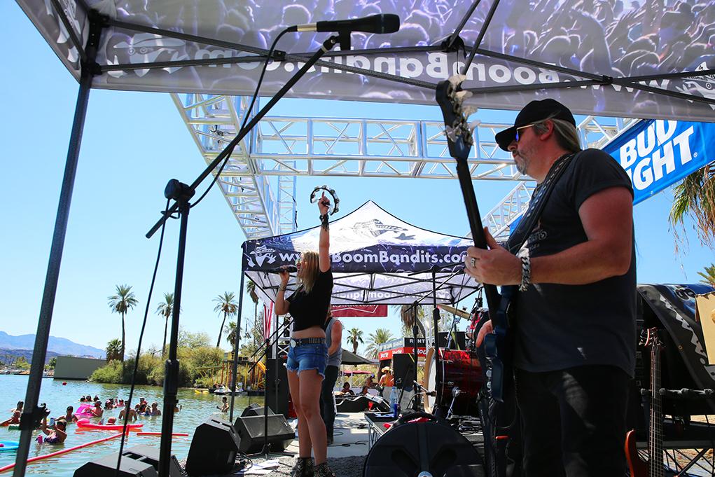 Waterworld Combines With Music For Havasu Palooza