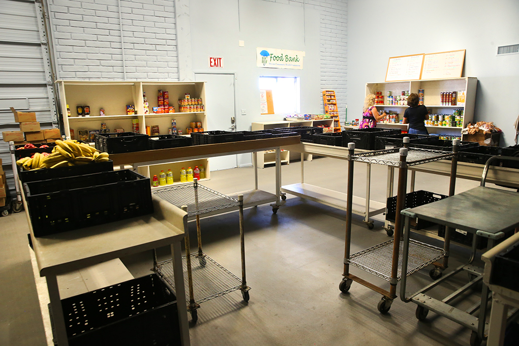 Food Bank Reopens In New Location