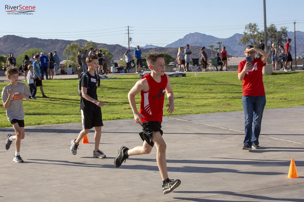 Thunderbolt Middle School Hosts Track Meet
