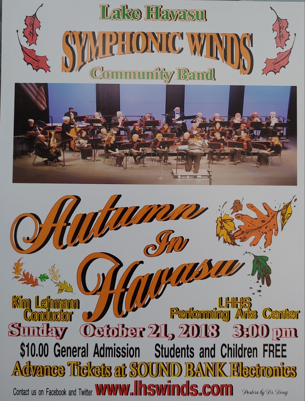 Symphonic Winds – Autumn in Havasu