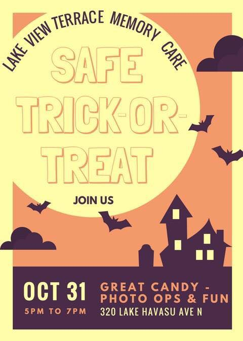 Lake View Terrace Memory Care's Safe Trick-or-Treat Event