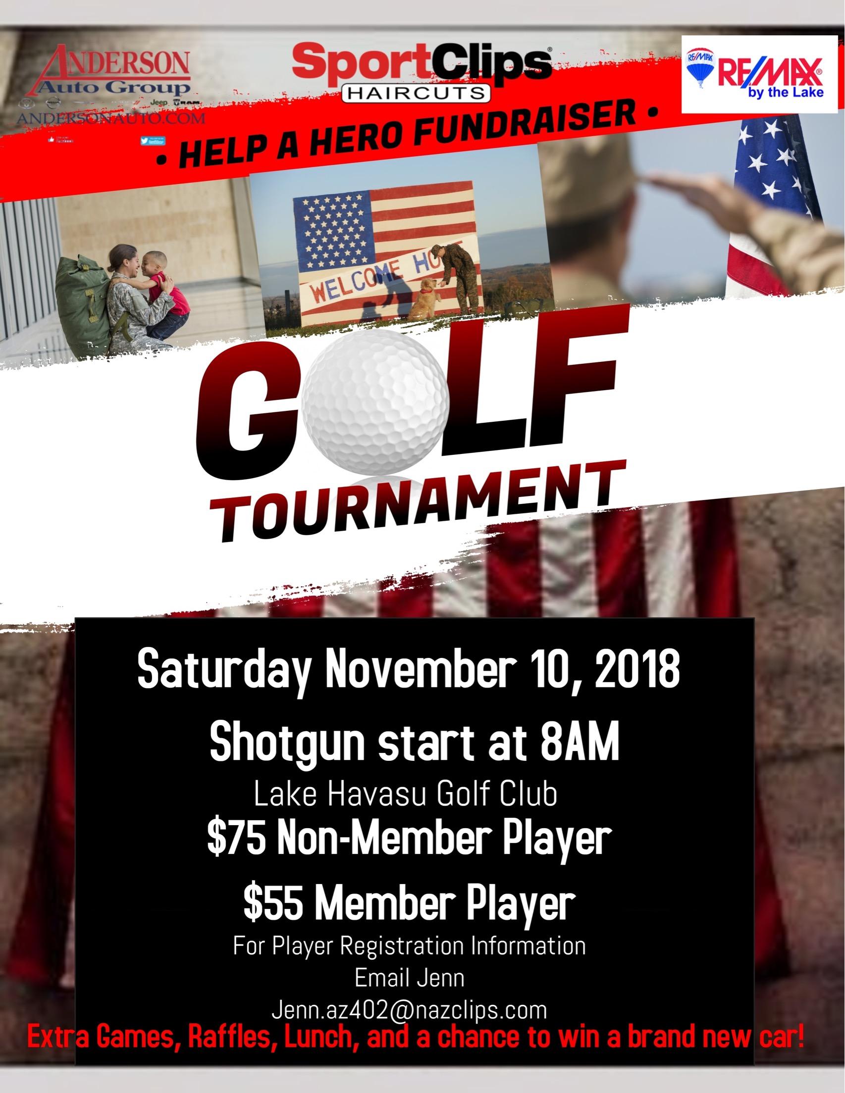 SportClips Help A Hero Golf Tournament