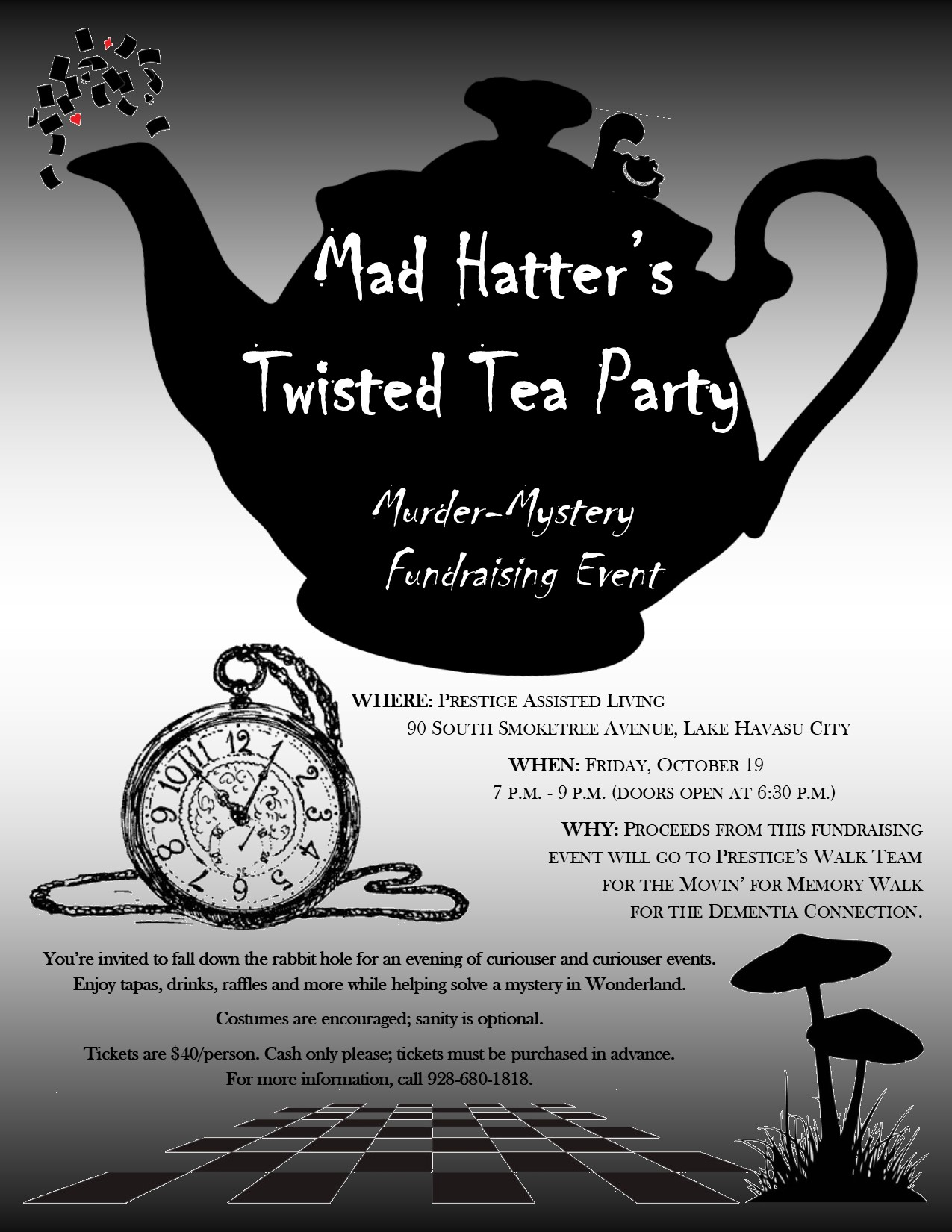 Mad Hatter Twisted Tea Party