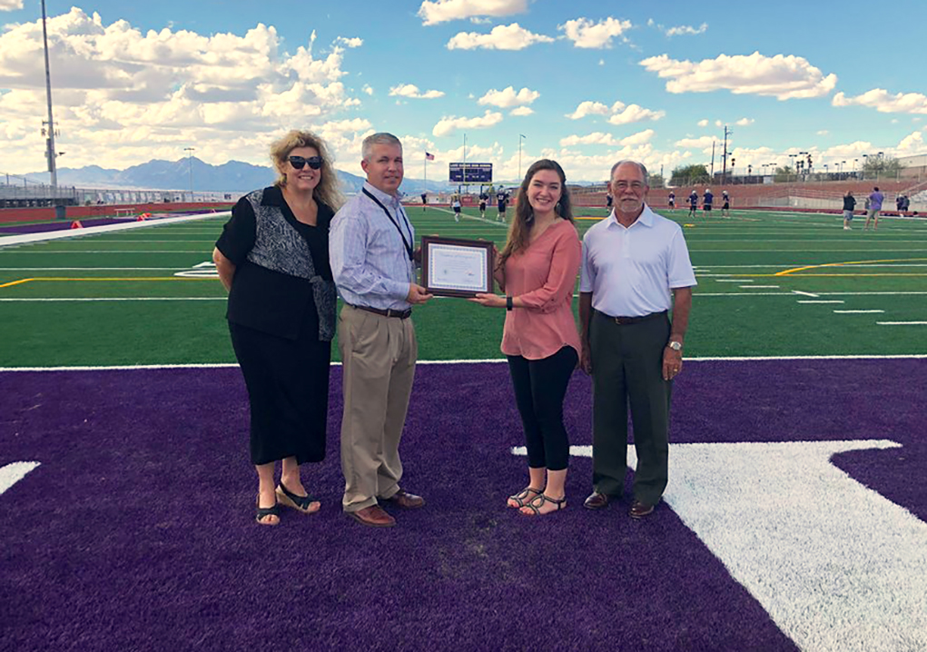 LHUSD Receives Water Conservation Acknowledgement – New Football Field Already Paying Benefits