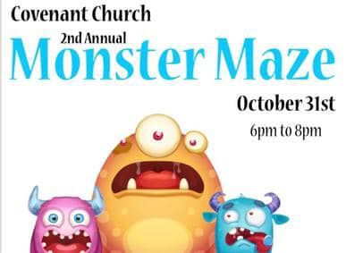 2nd Annual Monster Maze