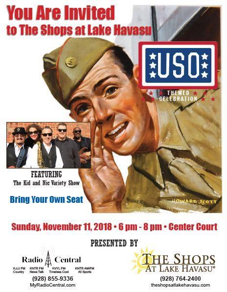USO Themed Celebration At The Shops At Lake Havasu