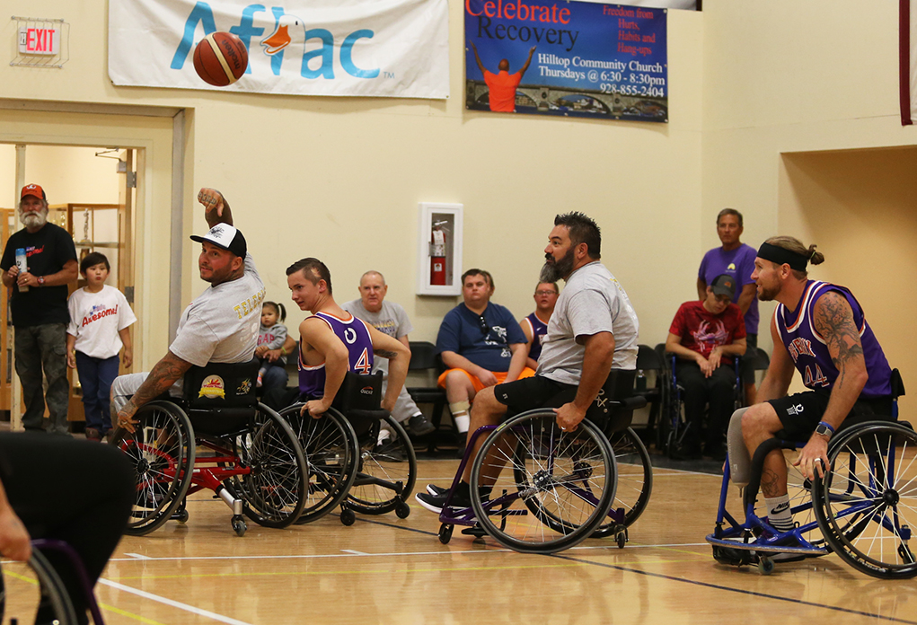 wheelchair basketball telesis