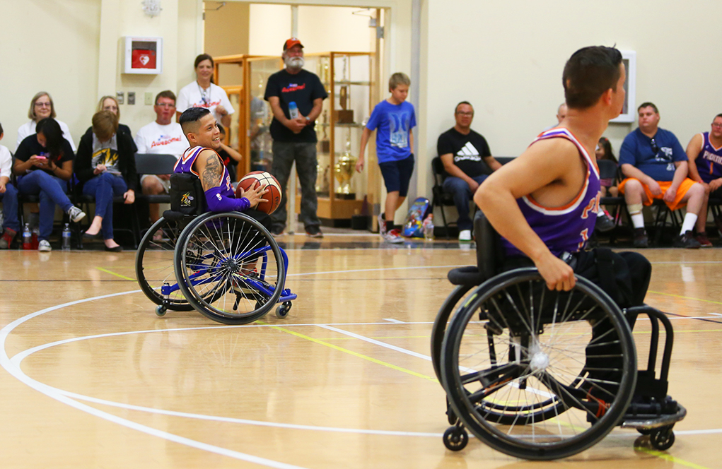 suns wheelchair basketball