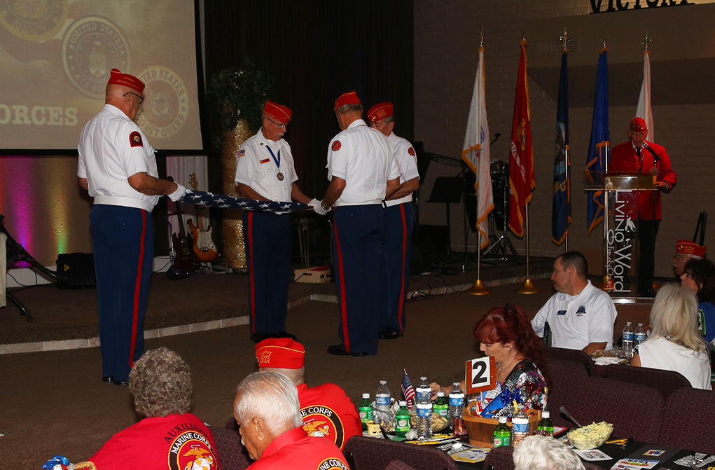 Veterans Honored At Living Word Family Church