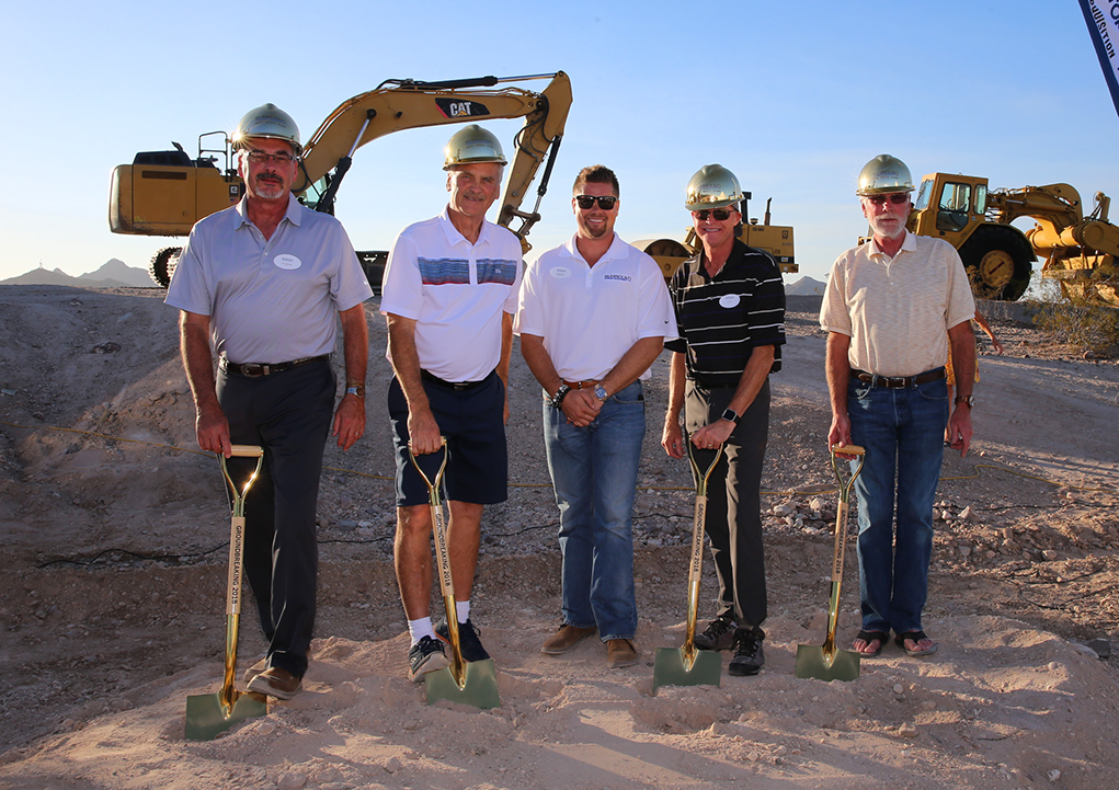 Riverbound Custom Storage and RV Breaks Ground