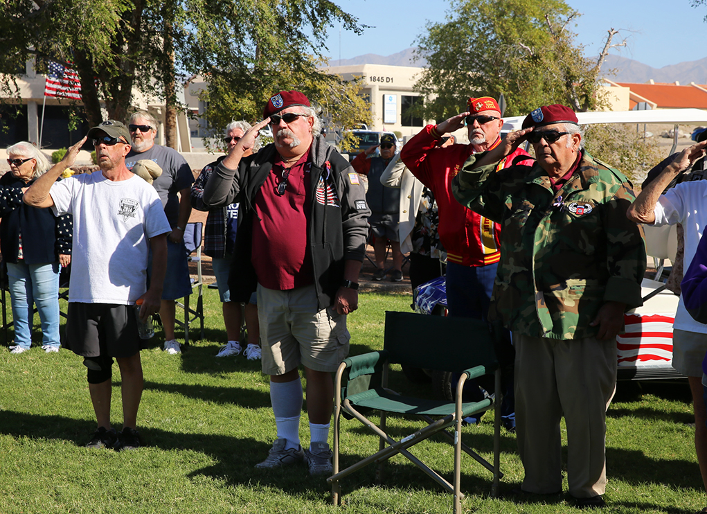 Veterans Honored In Lake Havasu City
