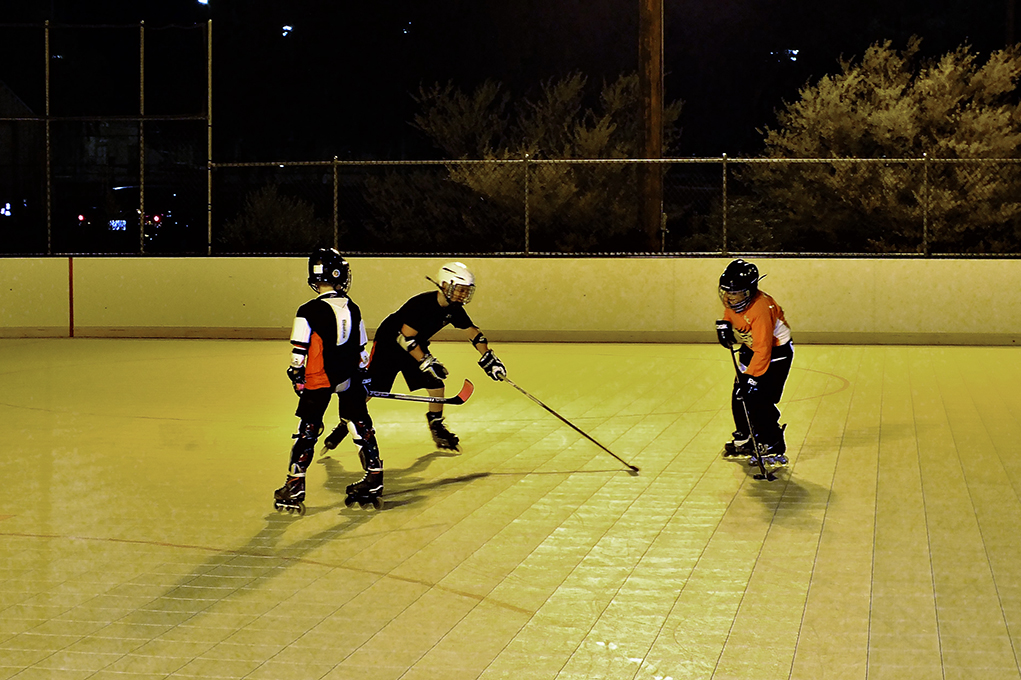Local Youth Hit The Rink!