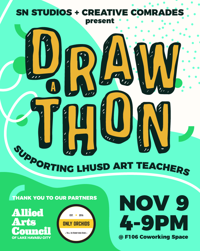Draw A Thon To Support LHUSD Teachers