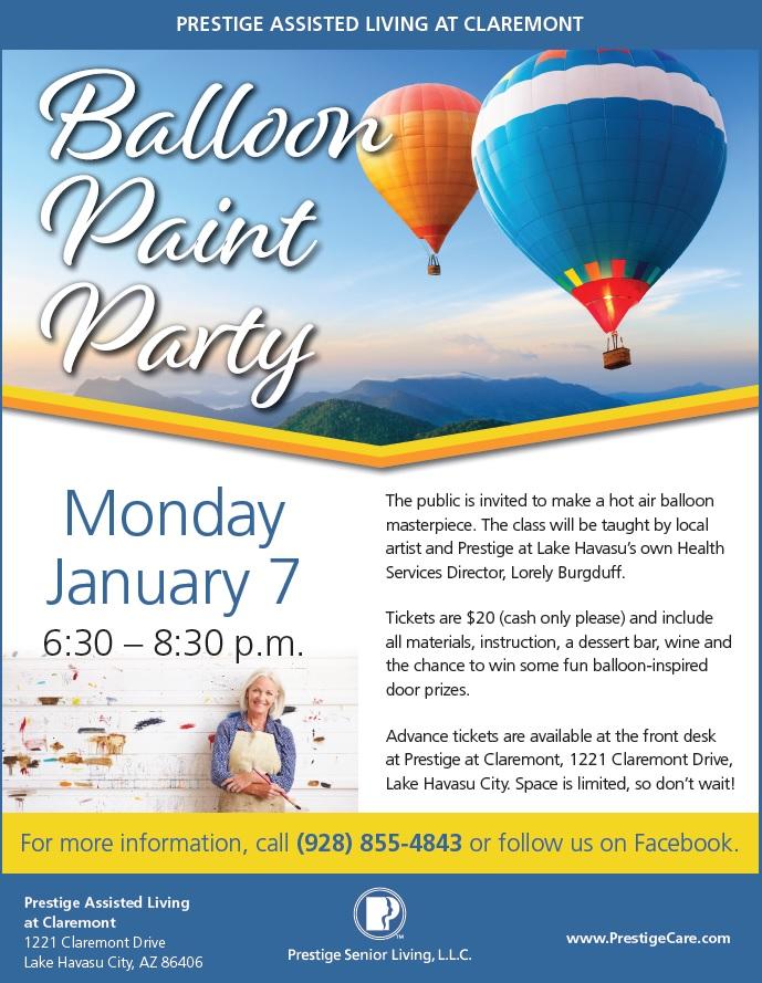 Balloon Paint Party