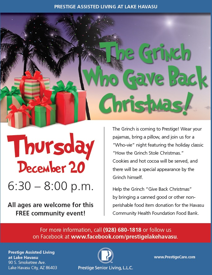 The Grinch Who Gave Back Christmas