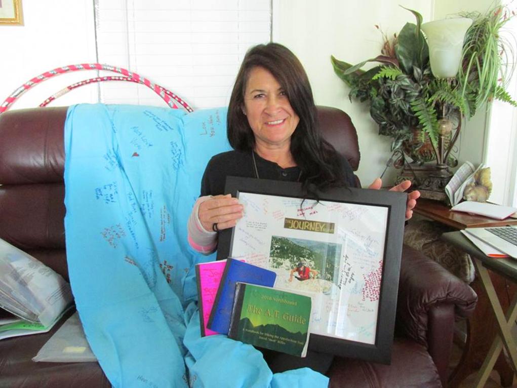 CITIZEN SPOTLIGHT: Lorinda Moore 'CajunFire', Appalachian Trail Hiker