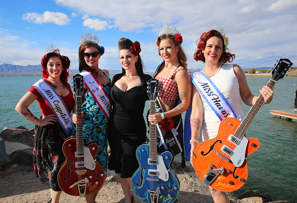 Pinups Strut Their Stuff To Take Top Honors