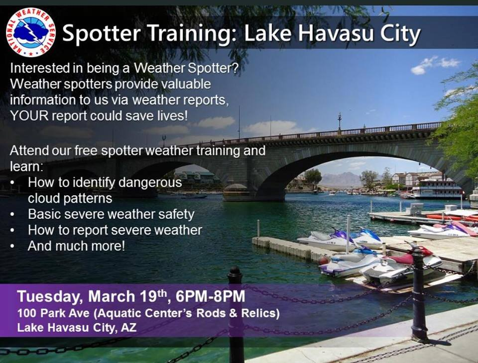 NWS Storm Spotter Class