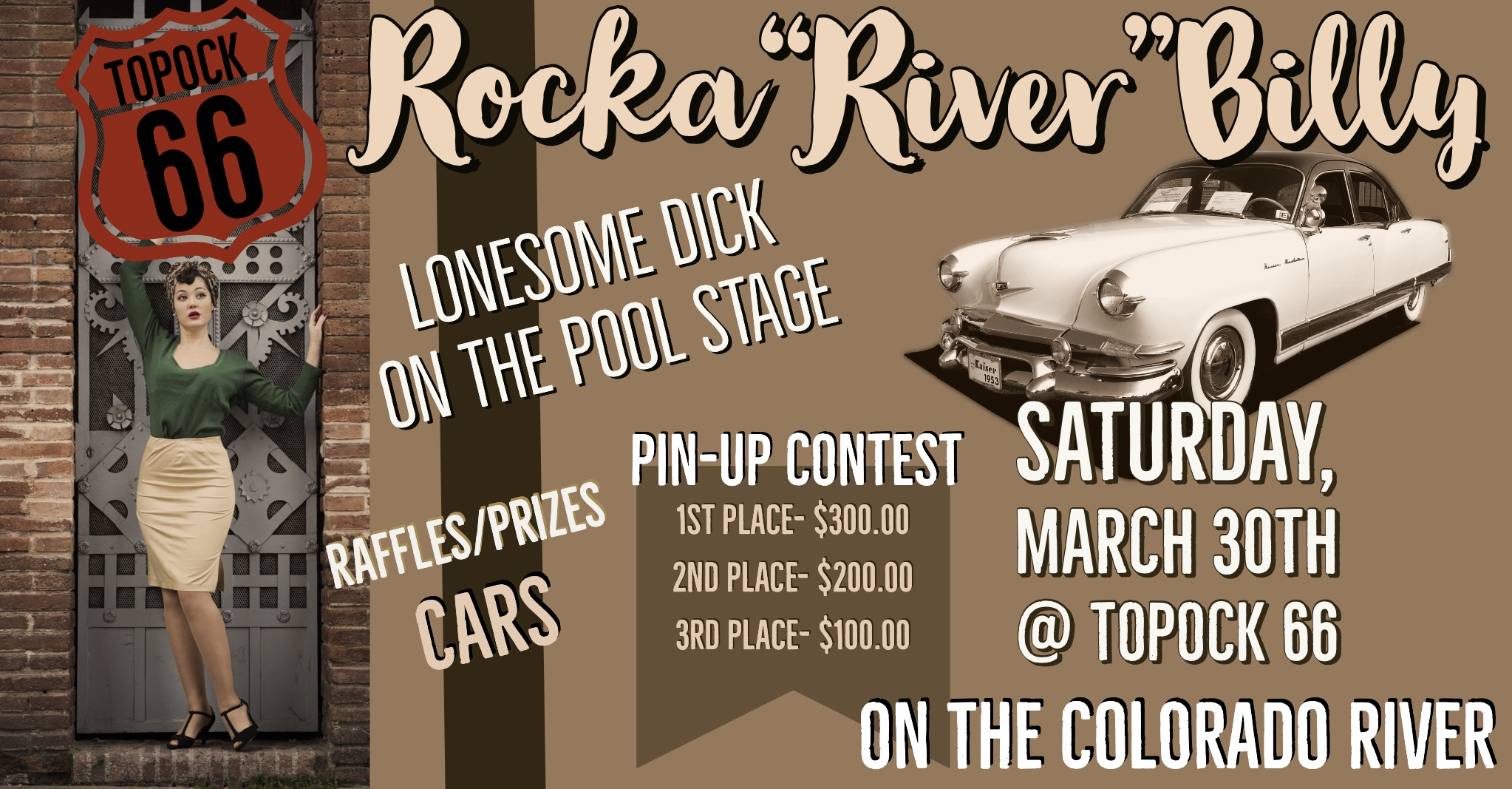 Topock 66 Rocka River Billy