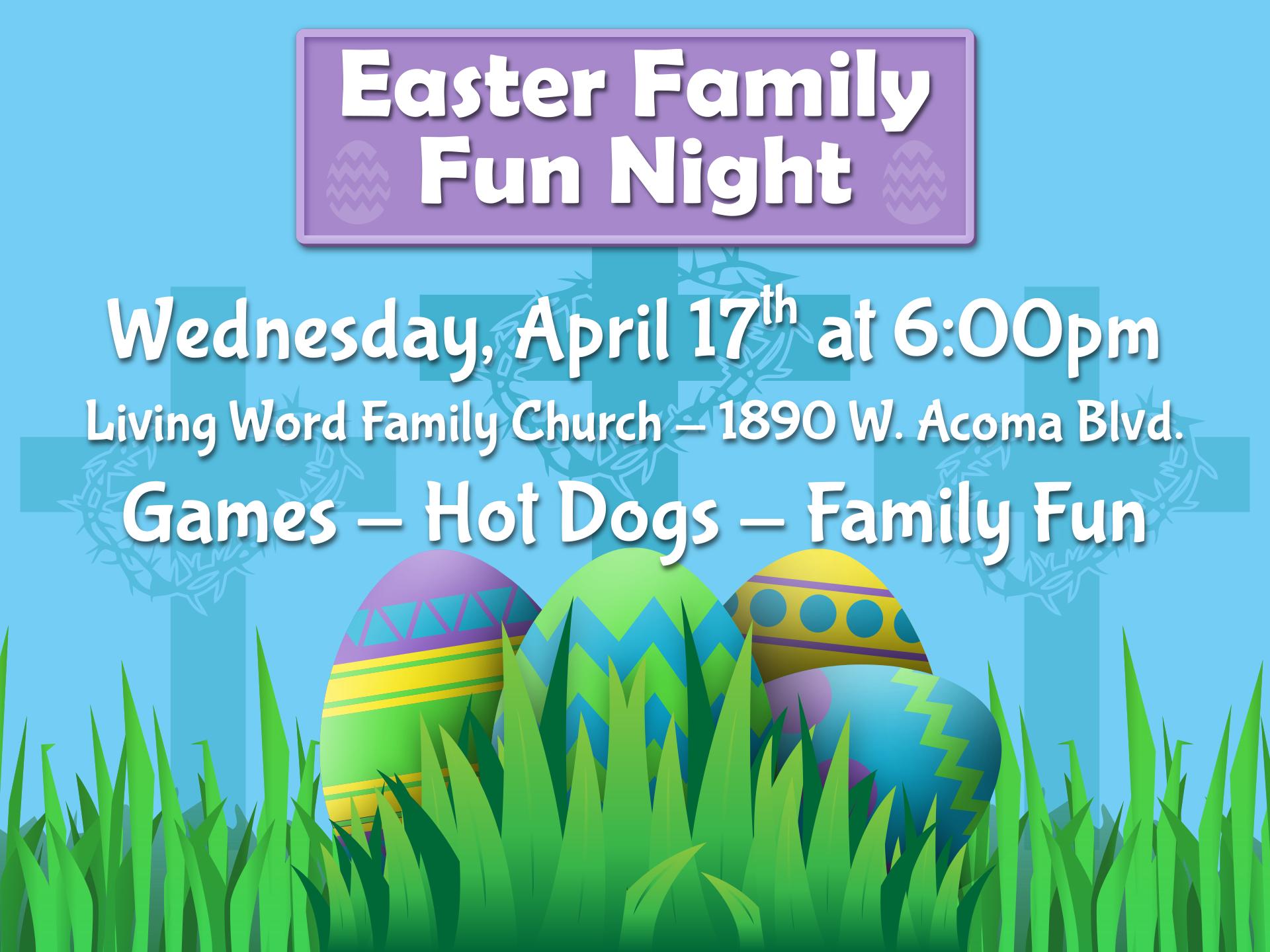 Easter Family Fun Night!