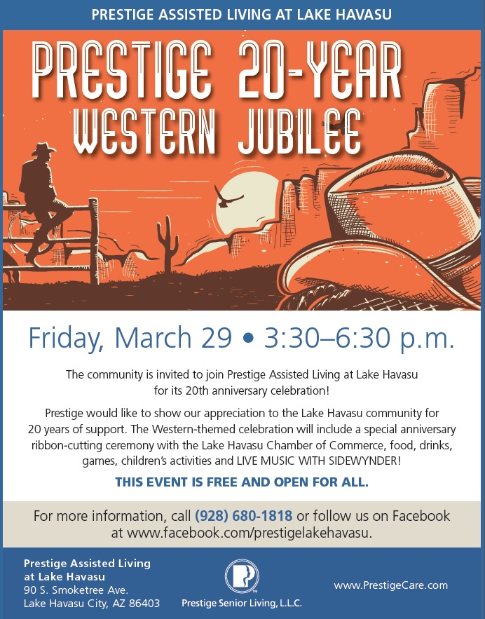 Prestige 20-Year Western Jubilee