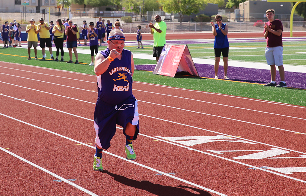Going For The Gold In The Special Olympics