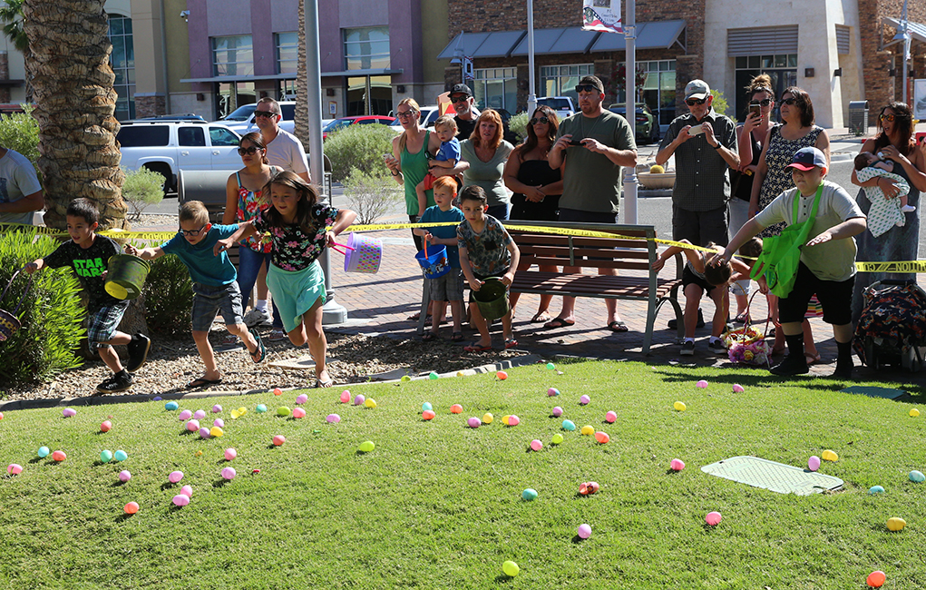 the shops easter egg hunt