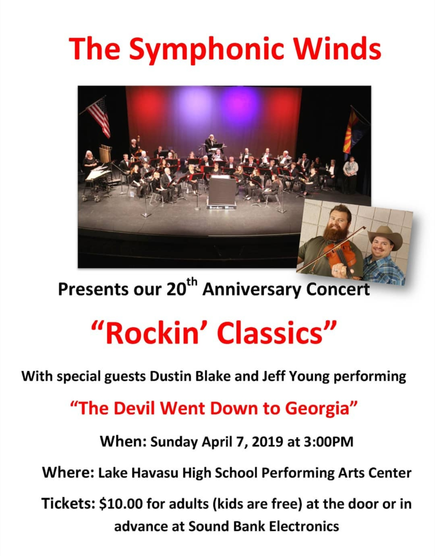 Symphonic Winds 20th Anniversary Concert