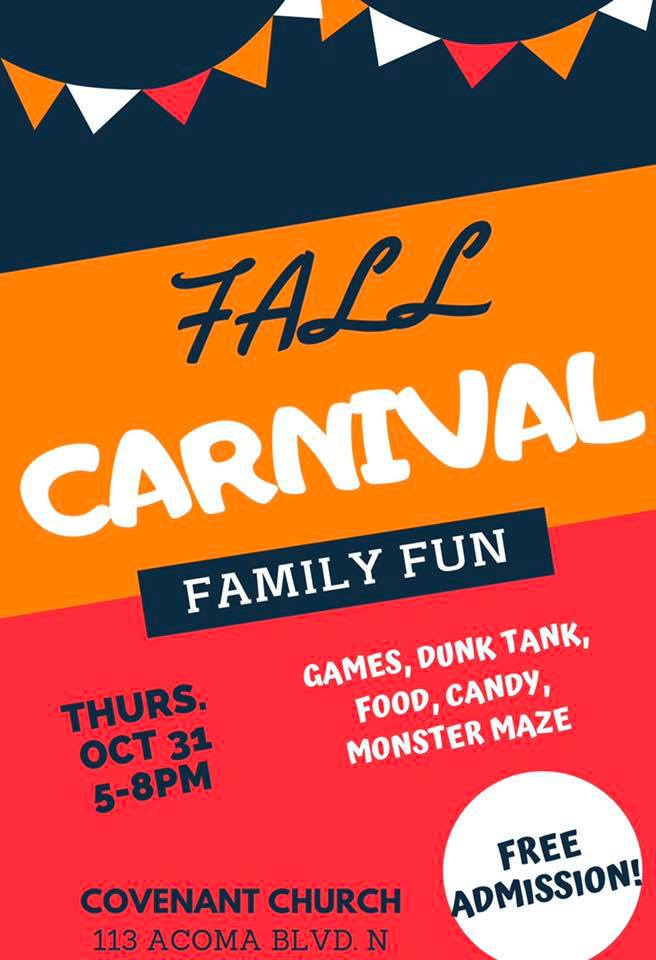 Covenant Church Fall Carnival
