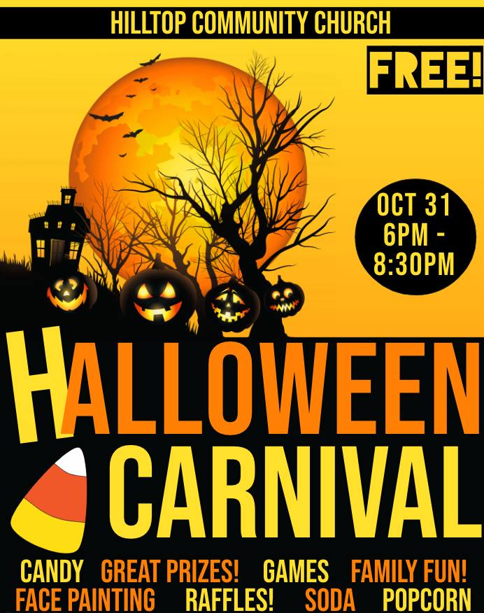 Hilltop Church Halloween Carnival
