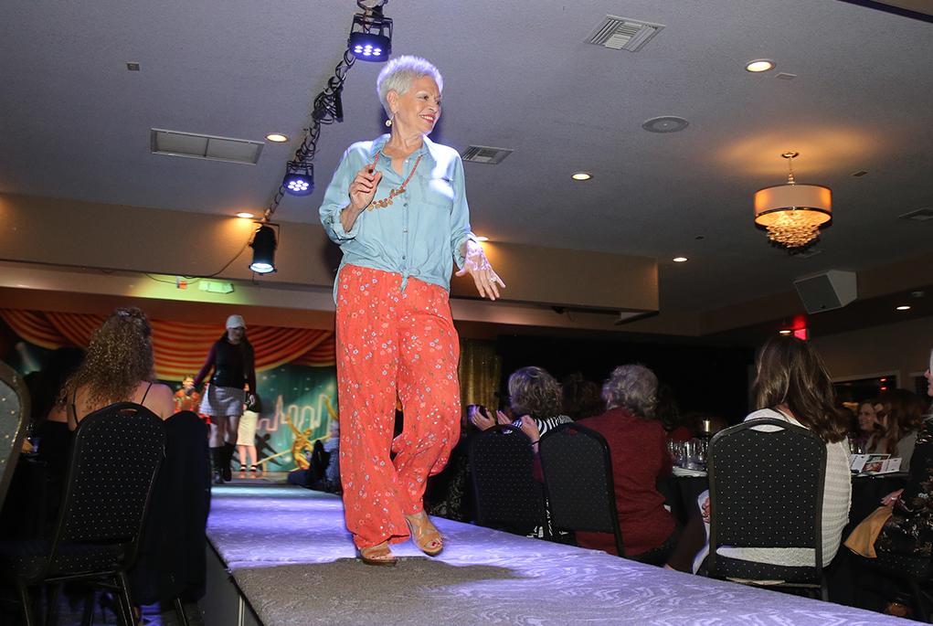 cancer association fashion show
