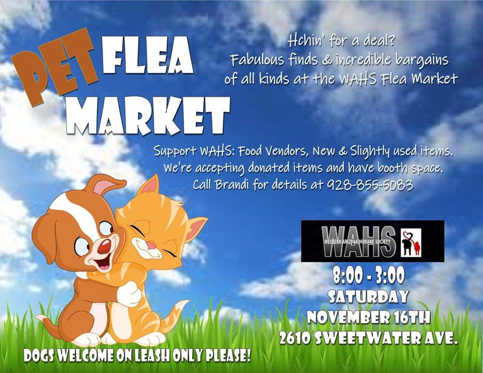 WAHS Pet Flea Market