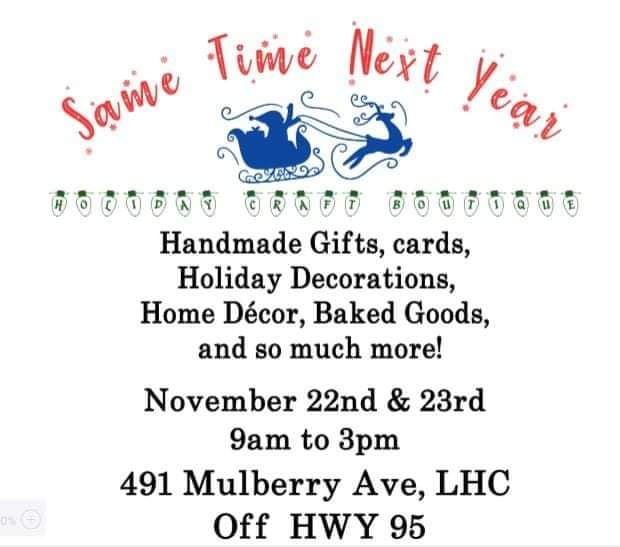 Same time next year craft Boutique