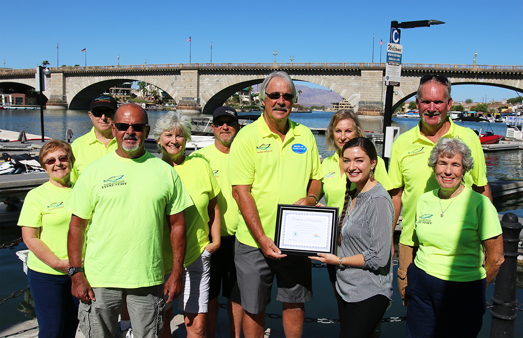 Havasu Marine Association Is Honored With Water Conservation Recognition Award