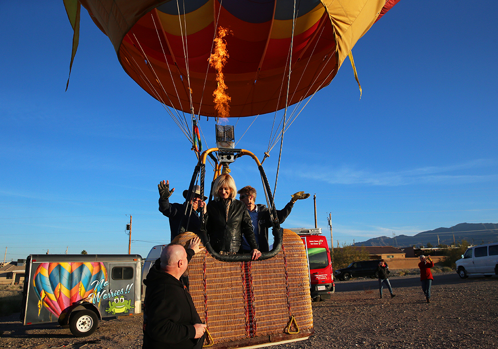Special Passengers Treated To A Skyward Ride Of A Lifetime Wednesday