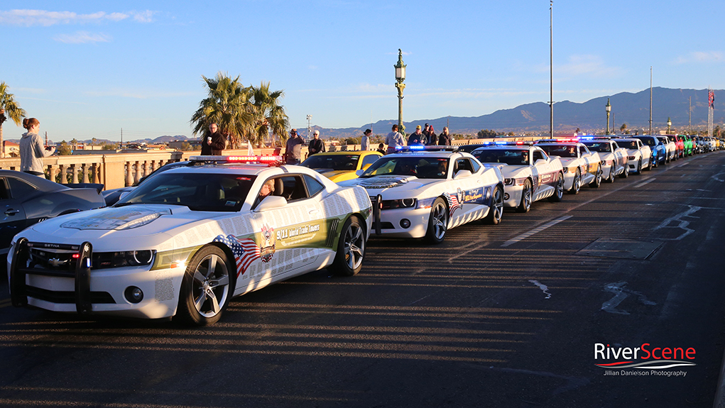 Camaros on the Bridge Fueled By The Fallen