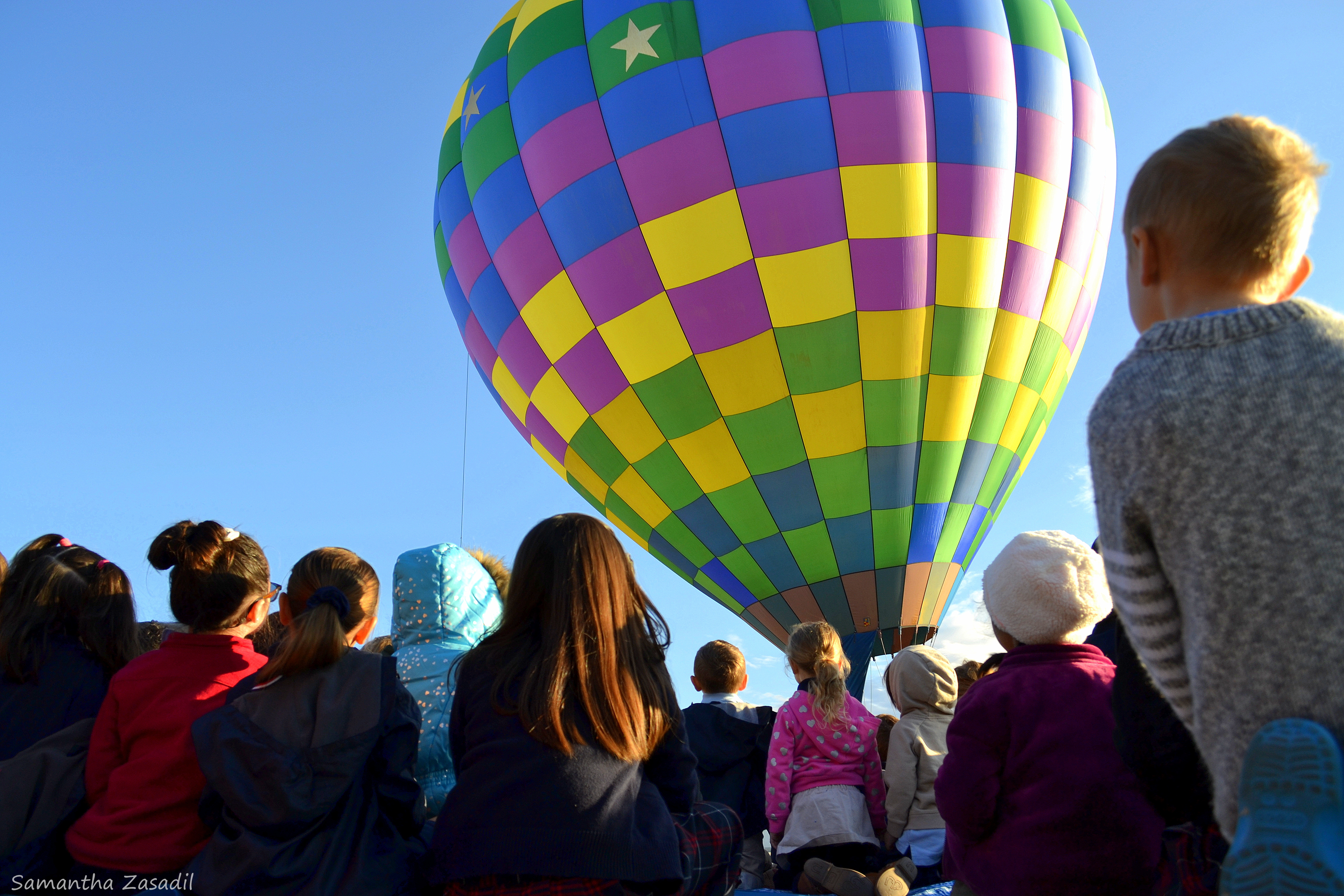 Balloonists Take Their Craft To Local Schools