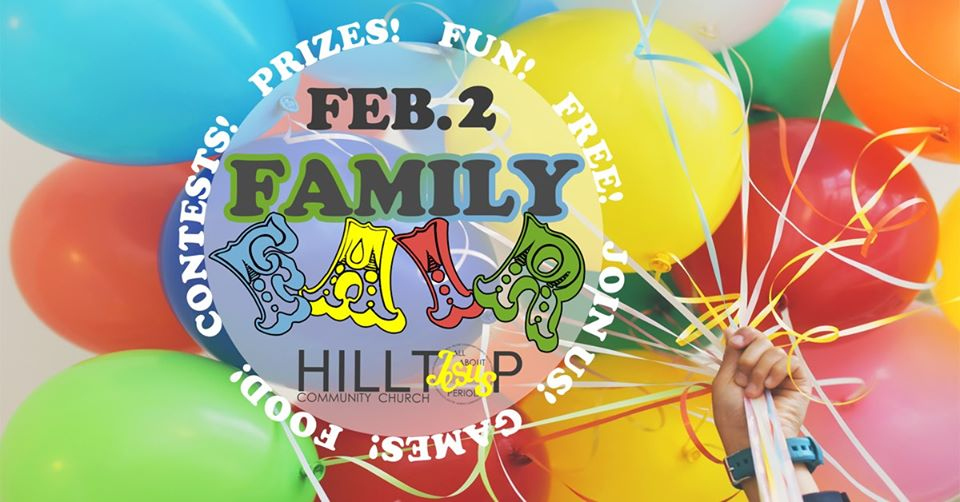 Family Fair at Hilltop Church