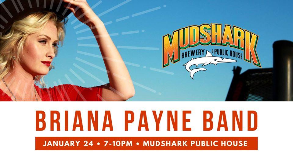 Briana Payne Band at Mudshark Public House